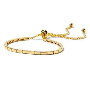 💛Banana Republic gold toned bracelet